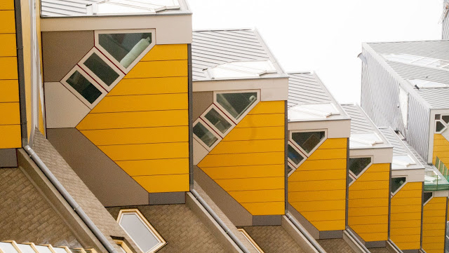 Cube Houses in Rotterdam, Netherlands