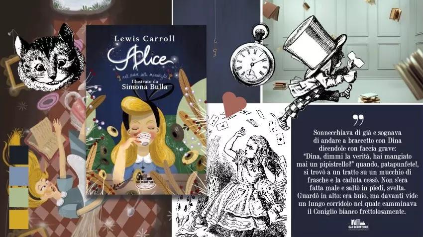 Alice nel paese delle meraviglie, di Lewis Carroll, illustrato da Simona Bulla