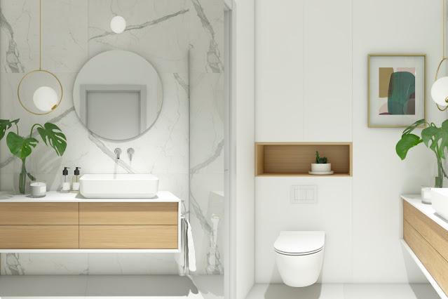 ห้องน้ำ Modern Minimal