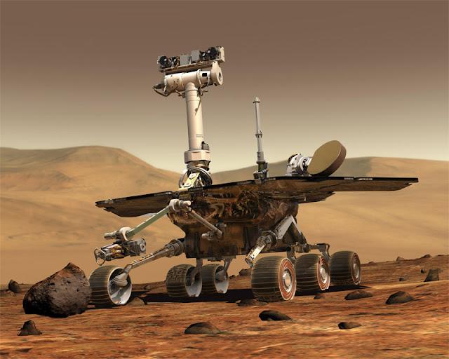 rover em Marte