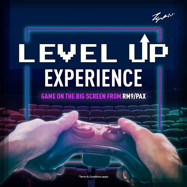 Anda Kini Boleh Bermain Video Games Di Dalam Panggung Wayang GSC Dan TGV