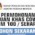 MUAT TURUN | DOWNLOAD BORANG PERMOHONAN BANTUAN KHAS COVID-19 , RM 100.00 SEHARI