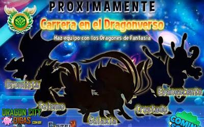 Mais Revelações da Corrida do Dragoniverso!