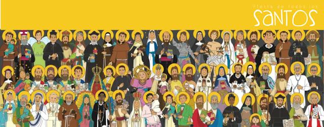 Resultado de imagen de fiesta de todos los santos