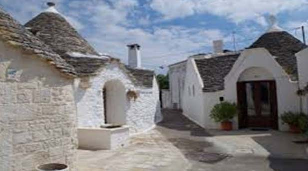Trulli Holiday Hotel is actually houses made of stones that show characteristics of a specific structural design having conical roofs. UNESCO has declared this hotel as the memorials of the World Heritage. This is also considered as the conventional residents of native people.
