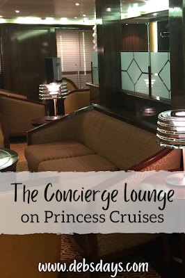 Concierge Lounge for suite guests on Princess Cruises