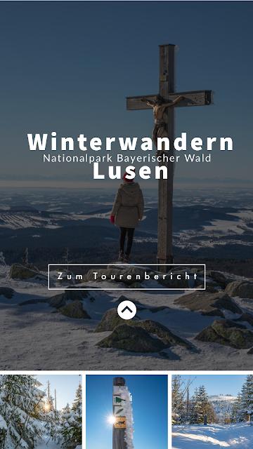 Wanderung auf den Lusen  Winterwandern im Nationalpark Bayerischer Wald 32