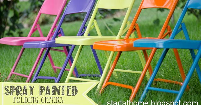 Start At Home Ugly Metal Folding Chairs I Think Not
