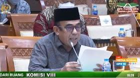 Menag Minta Maaf karena Umumkan Haji Batal Sebelum Rapat dengan Komisi VIII DPR