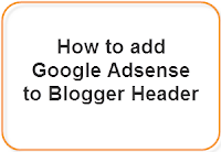 Add Google Adsense to Blogger Header (Above the Title) 1
