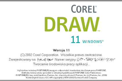 Free Download Software Corel Draw Version 11 for Computer or Laptop
