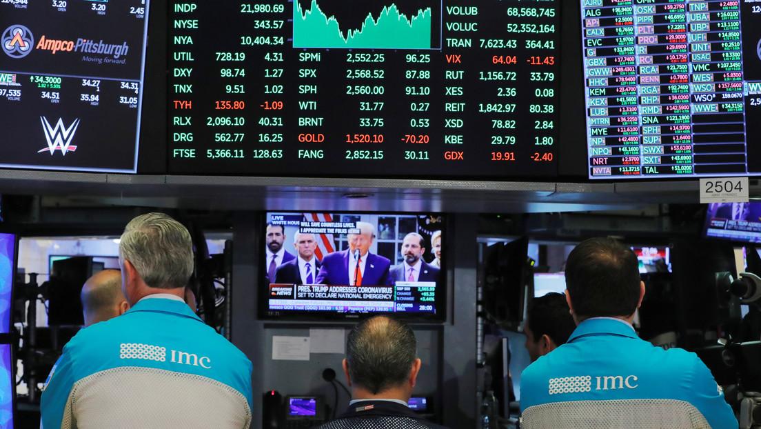 Los mercados globales presentan caída tras anunciar Trump que tiene covid-19