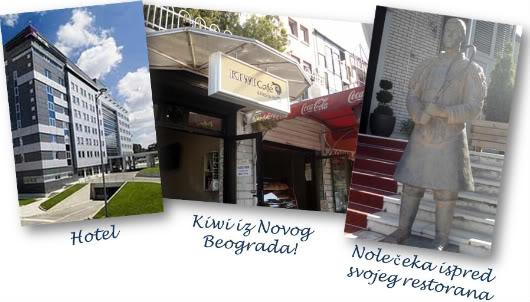 Skies above Belgrade by Laka kuharica: Inhotel, Kiwi i Nole