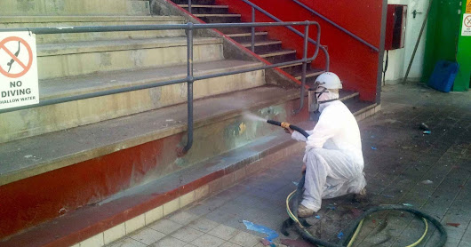 It's Cut and Dry : Why Wet Abrasive Blasting Sets The Industry Standard