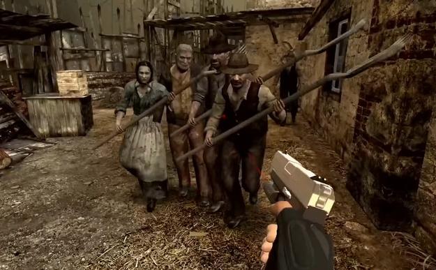 Resident Evil 4 gets a VR version