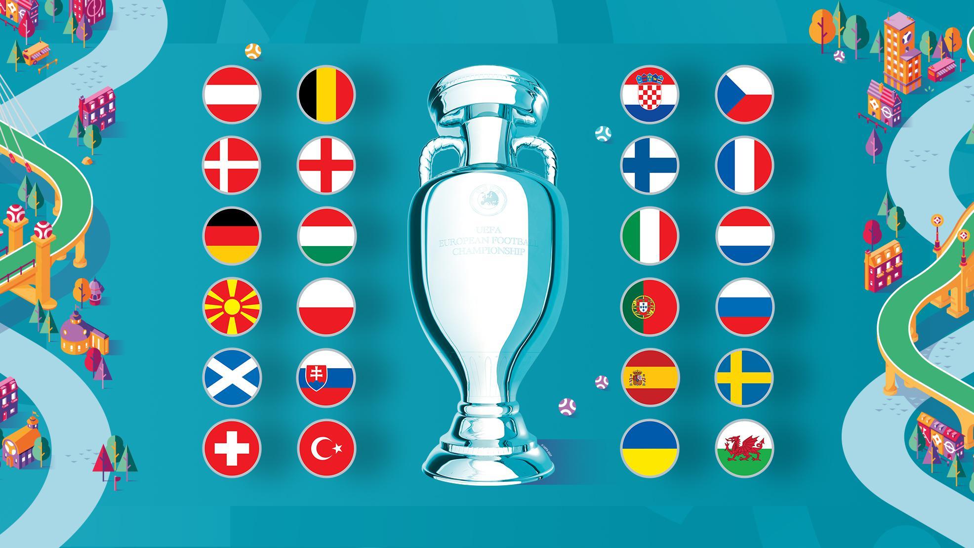 Jadual Perlawanan Uefa Euro 2020