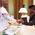 Buhari Celebrates Osinbajo At 61