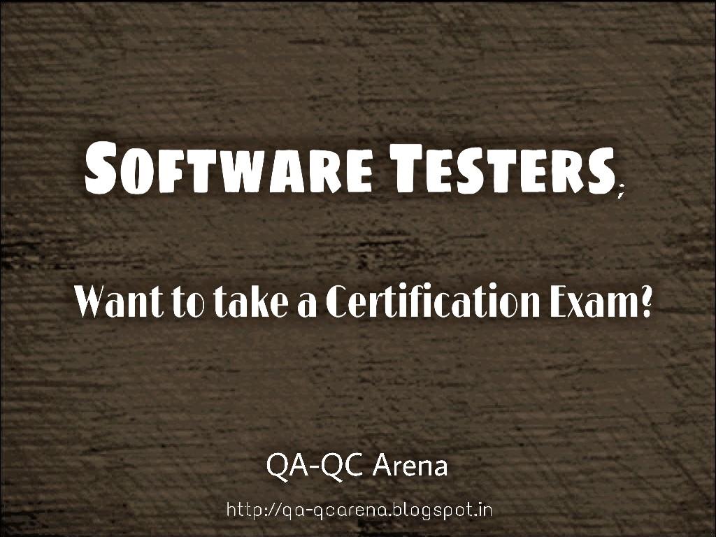 QA-QC Arena: Quality Assurance–Quality Control – Certifications (Part 1)