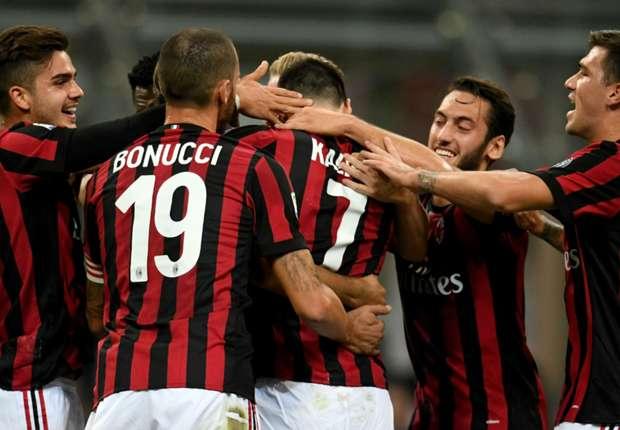 SPAL Dipermalukan AC Milan Dengan Skor 0-4