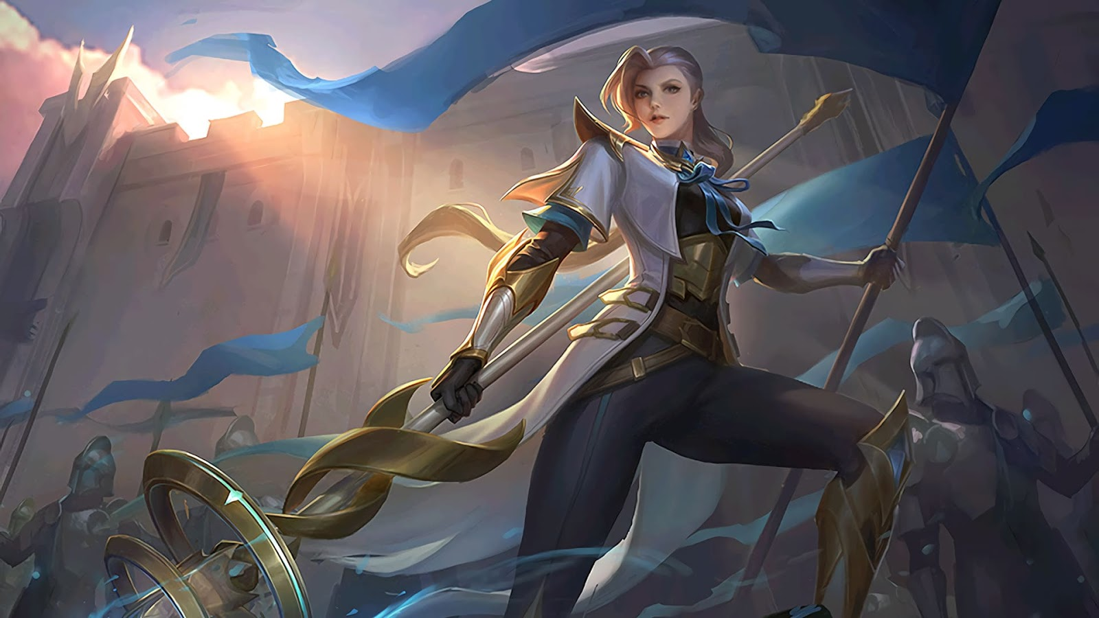 Wallpaper Silvanna Imperial Knightess Skin Mobile Legends HD for PC