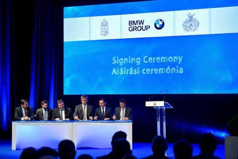 Elkezdődik a BMW-gyár építése Debrecenben