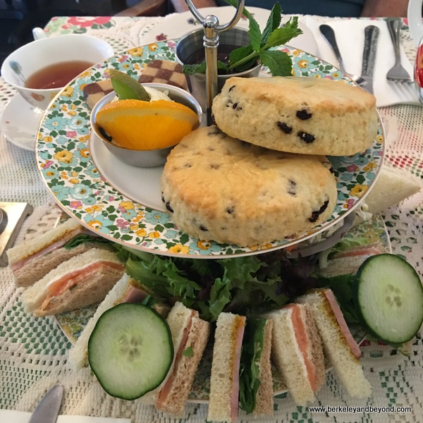 High Tea at Lovejoy's Tea Room in San Francisco