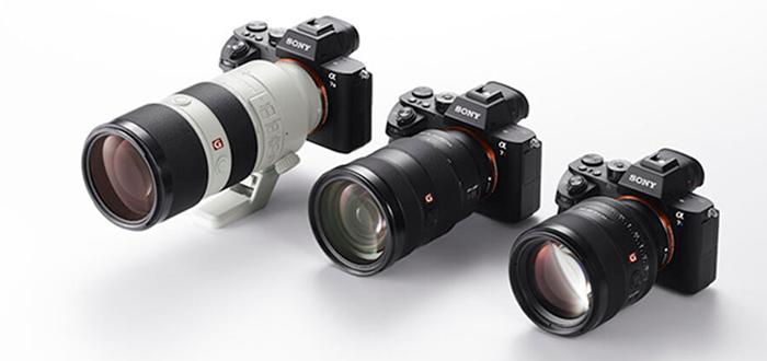 Фотоаппараты и объективы Sony