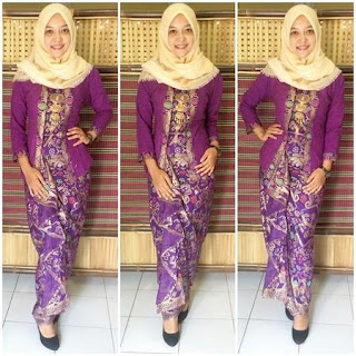 model baju kebaya batik kutu baru