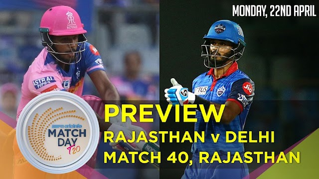IPL 2019 | RR vs DC match Highlights