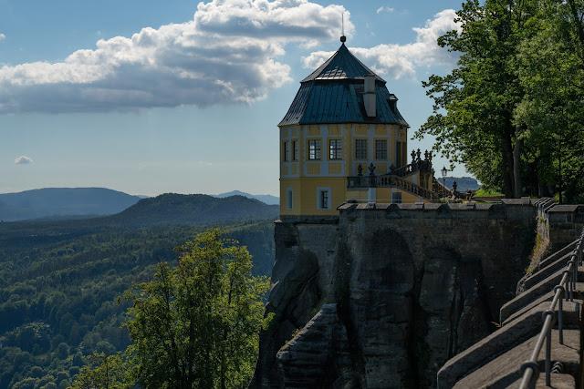 Malerweg Etappe 7 | Von Kurort Gohrisch bis Weißig | Wandern Sächsische Schweiz | Pfaffenstein – Festung Königstein 26