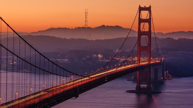 Golden Gate Bridge-California-San Francisco-ingegneria