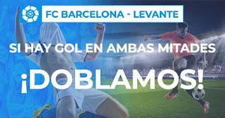 Paston promo Barcelona vs Levante 13-12-2020