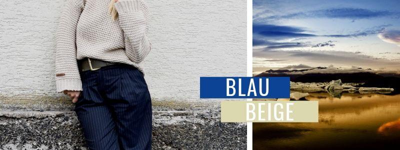 Blau-kombinieren-Beige-Outfit