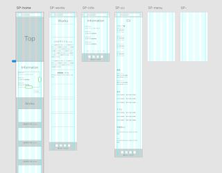 Adobe XDの作業スペーススクリーンショット