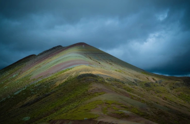 Peru Montaña Arcoiris Palcoyo
