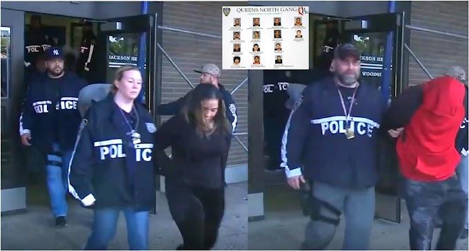Once pandilleros dominicanos de Los Trinitarios arrestados por drogas y armas en Queens