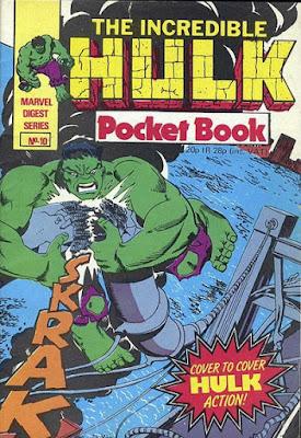 Incredible Hulk pocket book #10