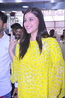 Mannara Chopra Looks Cute in Yellow Salwar Suit ~  Exclusive 42.JPG