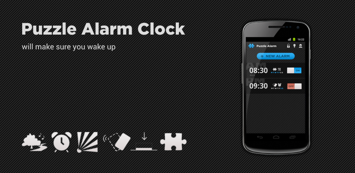 Image result for Puzzle Alarm Clock PRO apk