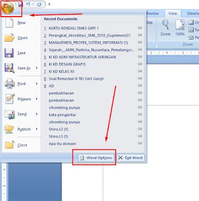 Cara Menampilkan Ruler Atau Penggaris Pada Microsoft Word 2007 Dan 2016