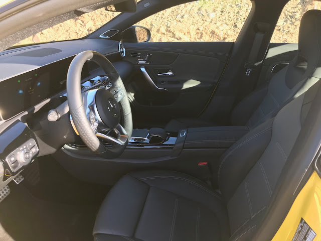 Front seats in 2020 Mercedes-Benz CLA250 4MATIC
