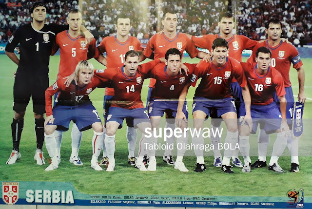 SERBIA TEAM SQUAD WORLD CUP 2010
