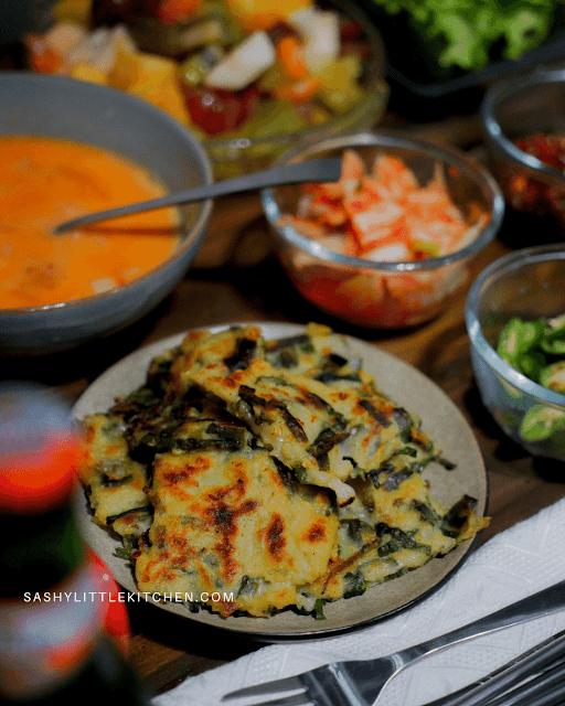 Panjeon (pancake daun bawang)