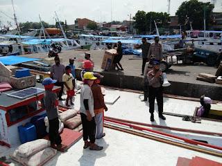 Ops Yustisi di Pelabuhan Paotere, Polres Pelabuhan Imbau Warga Tetap Patuh Prokes
