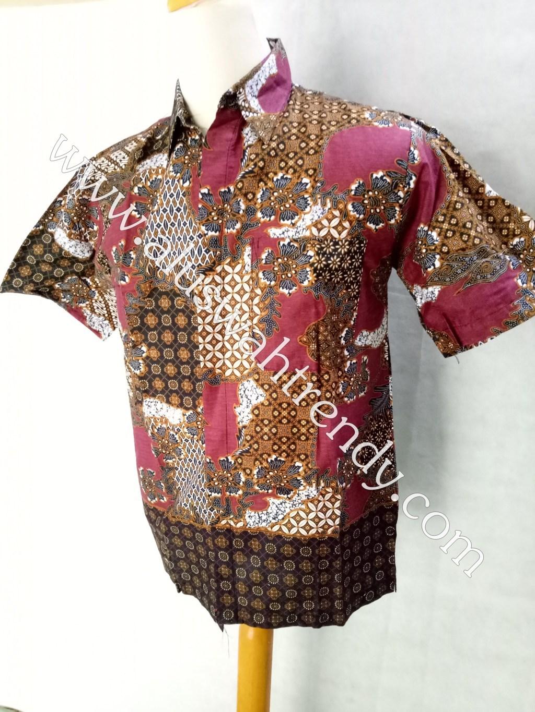 Kemeja Batik Lengan Pendek 013
