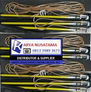 Jual Stick Grounding Set 20KV NGK 18 Meter di Sulawesi