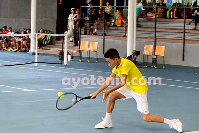 Usai Juara Liga.Tennis National Junior Championship, Ingvar Langsung Fokus Hadapi Turnamen ATF di Thailand