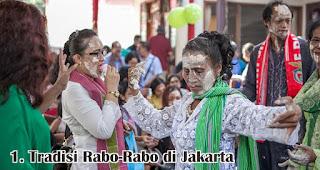 Tradisi Rabo-Rabo di Jakarta merupakan salah satu tradisi unik saat natal yang hanya terjadi di Indonesia