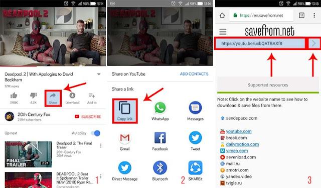 Download Video Youtube Di Android Tanpa Aplikasi
