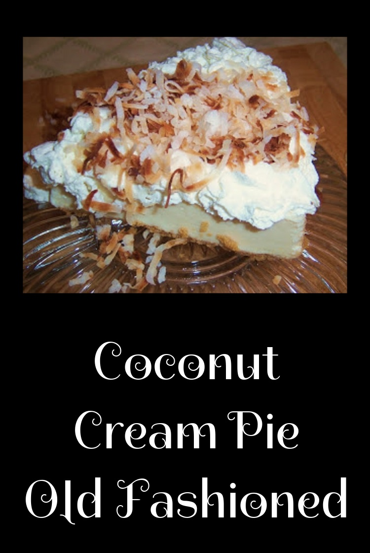 this is an all homemade from scratch coconut cream pie with whipped cream, coconut custard filling and toasted coconut
